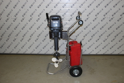Тележка для лодочного мотора ТМ-4
