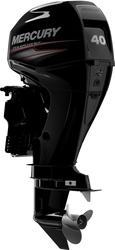У четырехтактных подвесных лодочных моторов Mercury 40E EFI